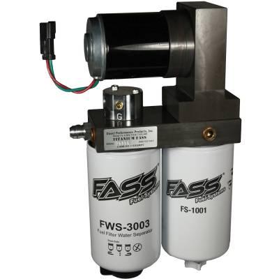 FASS - FASS-Titanium Signature Series Diesel Fuel Lift Pump 260GPH@45PSI Dodge Cummins 5.9L 1994-1998
