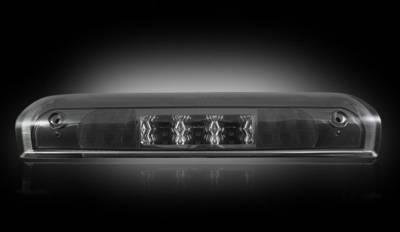 Recon Lighting - Dodge 02-08 RAM 1500 & 03-09 RAM 2500/3500 - Red LED 3rd Brake Light Kit w/ White LED Cargo Lights - Smoked Lens
