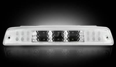 Recon Lighting - Dodge 94-01 RAM 1500 & 94-02 RAM 2500/3500 - Red LED 3rd Brake Light Kit w/ White LED Cargo Lights - Clear Lens