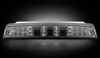 Recon Lighting - Dodge 94-01 RAM 1500 & 94-02 RAM 2500/3500 - Red LED 3rd Brake Light Kit w/ White LED Cargo Lights - Smoked Lens