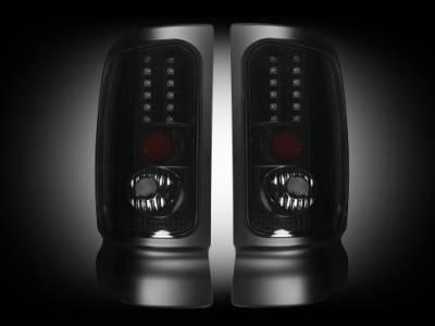 Recon Lighting - Dodge 94-01 RAM 1500 & 94-02 RAM 2500/3500 - Smoked Lens