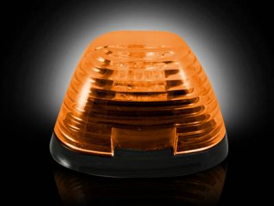Recon Lighting - Ford 99-16 Superduty (1-Piece Single Cab Light) Amber Lens with Amber LED's - 1-Piece Single Cab Light ONLY