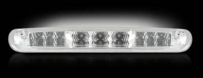 Recon Lighting - GMC & Chevy 07-13 Sierra & Silverado (2nd GEN) - Red LED 3rd Brake Light Kit w/ White LED Cargo Lights - Clear Lens