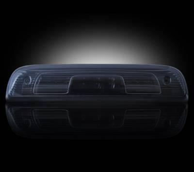 Recon Lighting - GMC & Chevy 14-15 Sierra & Silverado (3rd GEN) - Red LED 3rd Brake Light Kit w/ White LED Cargo Lights - Smoked Lens