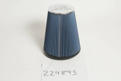 Bully Dog - RFI cone replacement filter, 8 layer cotton gauze -1994-02 Cummins, Fits Intake part number 52100