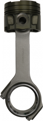 "CP CARRILLO - Piston and Connnecting Rod Kit Hybrid Cummins 5.9L 4.020 Bore - 16:1 - .420 Dish 1.358 Pin with 8.415"" Carrillo Rod WMC Bolt"