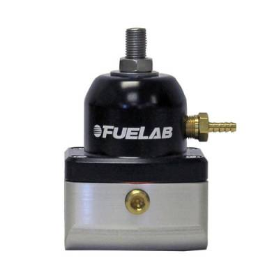 Fuelab - Fuelab Velocity Series Adjustable Bypass Regulator 10-25psi 50102
