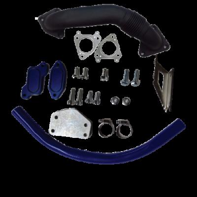 Gorilla Diesel Performance  - GM 2004.5-2005 LLY EGR Kit W/ Up Pipe