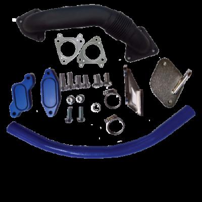 Gorilla Diesel Performance  - GM 2006-2007.5 LBZ EGR Kit W/ Up Pipe