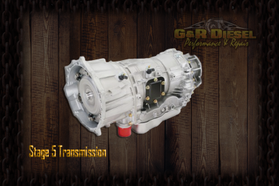 G&R Diesel - G&R Diesel - G&R Built 01-05 LB7, LLY 5 Speed Allison Stage 5 Transmission