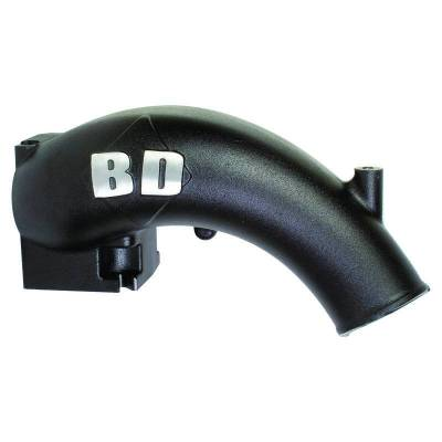 BD Diesel - BD Diesel X-Flow Power Intake Elbow (Black) - Dodge 2003-2007 5.9L 1041555