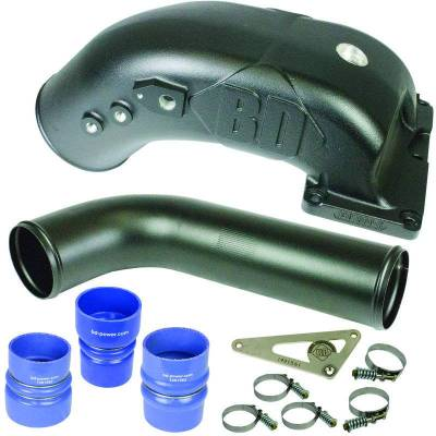 Air Intakes & Parts - Intake Elbows / Manifolds - BD Diesel - BD Diesel X-INTAKE ELBOW - Dodge 6.7L 2008-2009 1041560