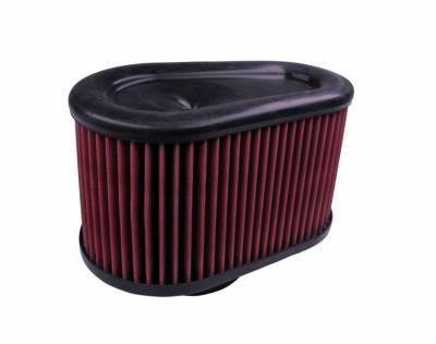 S&B Filters - S&B Filters Replacement Filter for S&B Cold Air Intake Kit 2003-2007 Power Stroke (Cleanable, 8-ply Cotton) KF-1039