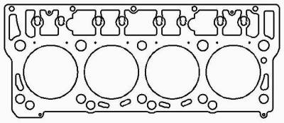 "Engine Parts & Performance - Gaskets / Seals / Fittings / Bearings - Cometic Gaskets - Cometic Gaskets .062"" MLX Cylinder Head Gasket, 99mm Gasket Bore. Each C5610-062"