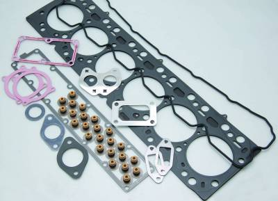 "Engine Parts & Performance - Gaskets / Seals / Fittings / Bearings - Cometic Gaskets - Cometic Gaskets Top End Gasket Set, 6 cylinder diesel, 4.312"" Gasket Bore PRO3004T"