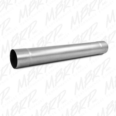 "MBRP Exhaust - MBRP Exhaust Muffler Delete Pipe  4"" Inlet /Outlet  30"" Overall, AL MDA30"