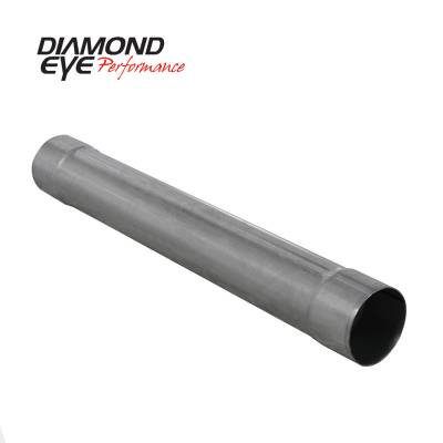 Diamond Eye Performance - Diamond Eye Performance PERFORMANCE DIESEL EXHAUST PART-5in. ALUMINIZED PERFORMANCE MUFFLER REPLACEMENT 510219