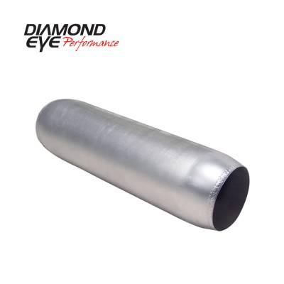 Diamond Eye Performance - Diamond Eye Performance PERFORMANCE DIESEL EXHAUST PART-4in. ALUMINIZED PERFORMANCE QUIET TONE RESONATOR 400400