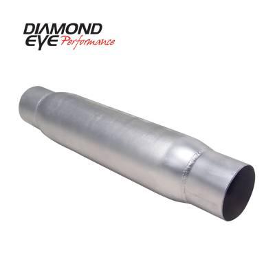 Diamond Eye Performance - Diamond Eye Performance PERFORMANCE DIESEL EXHAUST PART-4in. ALUMINIZED PERFORMANCE QUIET TONE RESONATOR 400405