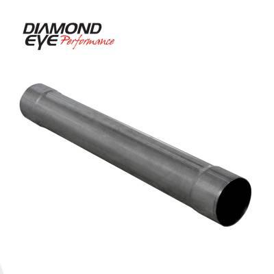 Diamond Eye Performance - Diamond Eye Performance PERFORMANCE DIESEL EXHAUST PART-5in. 409 STAINLESS STEEL PERFORMANCE MUFFLER REP 560220