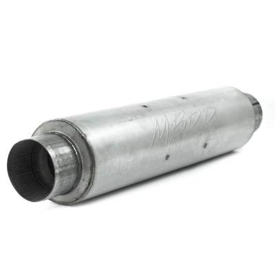 "MBRP Exhaust - MBRP Exhaust 4"" inlet/outlet, Quiet tone muffler, 24"" body, 6"" diameter, 30"" overall, AL M1004A"