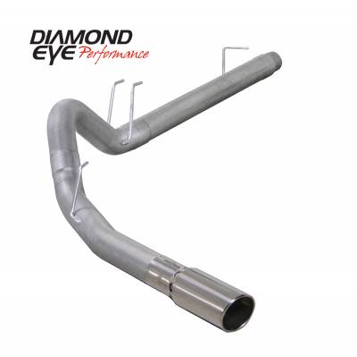 Exhaust Systems / Manifolds - Turbo Back Duals - Diamond Eye Performance - Diamond Eye Performance 2008-2010 FORD 6.4L POWERSTROKE F250/F350 (ALL CAB AND BED LENGTHS) 4in. ALUMINZ K4360A