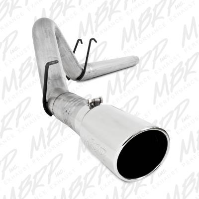 "Exhaust Systems / Manifolds - Turbo Back Duals - MBRP Exhaust - MBRP Exhaust 4"" Filter Back, Single Side Exit, AL S6242AL"