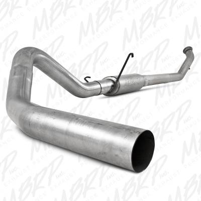 "Exhaust Systems / Manifolds - Turbo Back Single - MBRP Exhaust - MBRP Exhaust 4"" Turbo Back, Single Side S6126P"