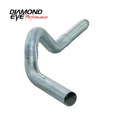"Exhaust Systems / Manifolds - DPF Back Single - Diamond Eye Performance - Diamond Eye Performance 13-14 DODGE 6.7L CUMMINS 5"" DIESEL PARTICULATE FILTER BACK SINGLE 409 STAINLESS K5256A"