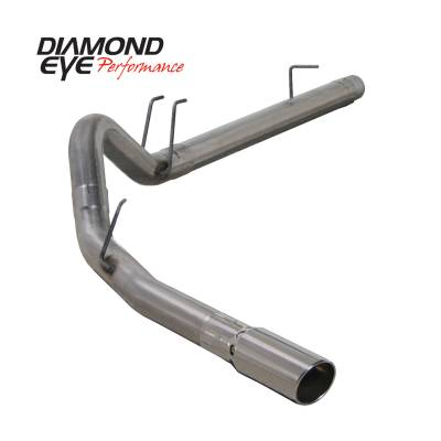 Exhaust Systems / Manifolds - Turbo Back Duals - Diamond Eye Performance - Diamond Eye Performance 2008-2010 FORD 6.4L POWERSTROKE F250/F350 (ALL CAB AND BED LENGTHS) 4in. 409 STA K4360S