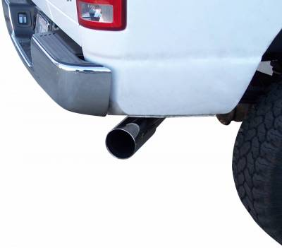 Gibson Performance Exhaust - Gibson Performance Exhaust Cat-Back Single Exhaust System, Aluminized 316604 - Image 2