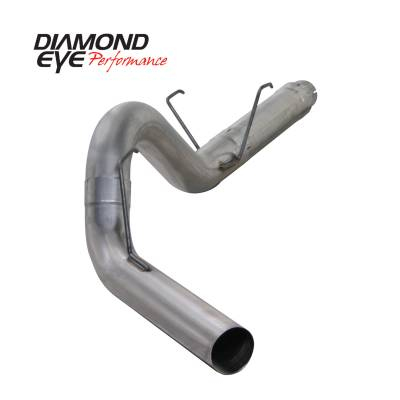 Exhaust Systems / Manifolds - Turbo Back Duals - Diamond Eye Performance - Diamond Eye Performance 2007.5-2012 DODGE 6.7L CUMMINS 2500/3500 (ALL CAB AND BED LENGTHS) 5in. 409 STAI K5252S