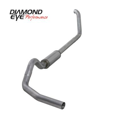 Exhaust Systems / Manifolds - Turbo Back Duals - Diamond Eye Performance - Diamond Eye Performance 1999-2003.5 FORD 7.3L POWERSTROKE F250/F350 (ALL CAB AND BED LENGTHS) 4in. ALUMI K4318A