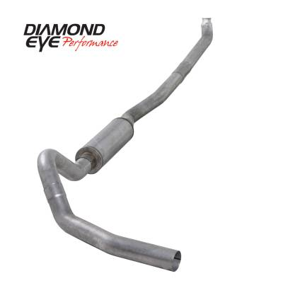 Exhaust Systems / Manifolds - Turbo Back Duals - Diamond Eye Performance - Diamond Eye Performance 2001-2007.5 CHEVY/GMC 6.6L DURAMAX 2500/3500 (ALL CAB AND BED LENGTHS)-4in. ALUM K4114A