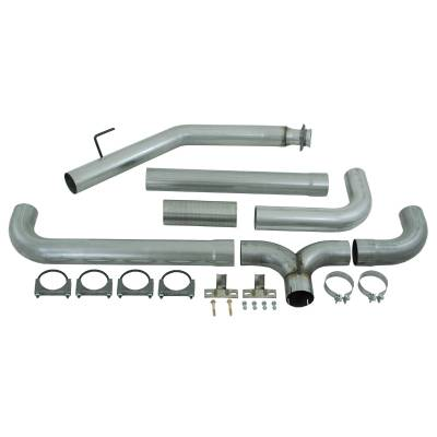 "Exhaust Systems / Manifolds - Turbo Back Single - MBRP Exhaust - MBRP Exhaust 4"" Turbo Back Dual SMOKERS, AL S8100AL"