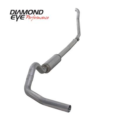 Diamond Eye Performance - Diamond Eye Performance 1994-1997.5 FORD 7.3L POWERSTROKE F250/F350 (ALL CAB AND BED LENGTHS) 4in. ALUMI K4307A