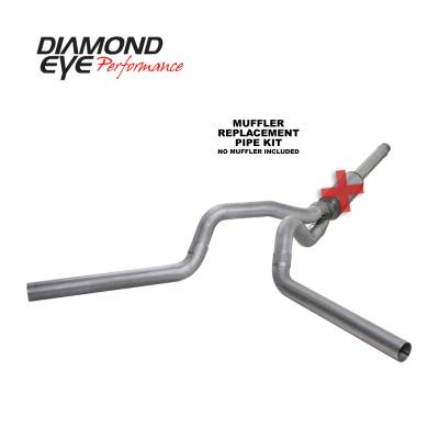 Diamond Eye Performance - Diamond Eye Performance 1994-1997.5 FORD 7.3L POWERSTROKE F250/F350 (ALL CAB AND BED LENGTHS) 4in. ALUMI K4312A-RP