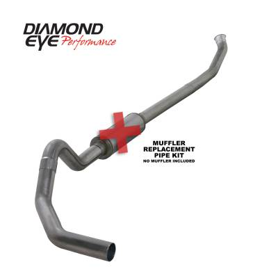 Diamond Eye Performance - Diamond Eye Performance 2003-2004.5 DODGE 5.9L CUMMINS 2500/3500 (ALL CAB AND BED LENGTHS)-4in. 409 STAI K4218S-RP