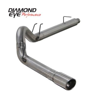 Exhaust Systems / Manifolds - Turbo Back Duals - Diamond Eye Performance - Diamond Eye Performance 2008-2010 FORD 6.4L POWERSTROKE F250/F350 (ALL CAB AND BED LENGTHS) 5in. 409 STA K5364S