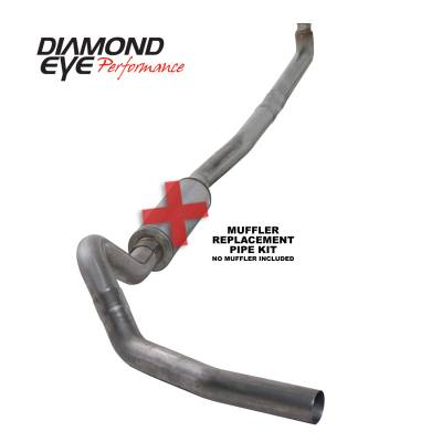 Exhaust Systems / Manifolds - Turbo Back Duals - Diamond Eye Performance - Diamond Eye Performance 2001-2007.5 CHEVY/GMC 6.6L DURAMAX 2500/3500 (ALL CAB AND BED LENGTHS)-4in. 409 K4114S-RP