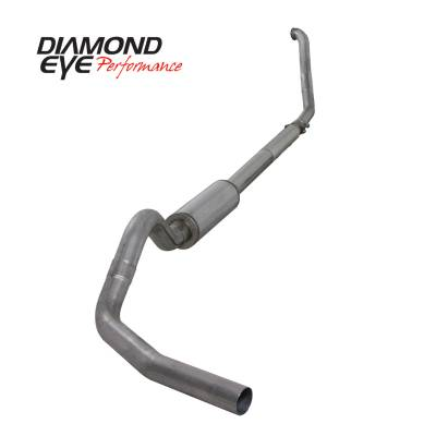 Exhaust Systems / Manifolds - Turbo Back Single - Diamond Eye Performance - Diamond Eye Performance 1994-1997.5 FORD 7.3L POWERSTROKE F250/F350 (ALL CAB AND BED LENGTHS) 4in. 409 S K4307S