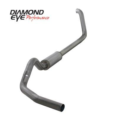 Exhaust Systems / Manifolds - Turbo Back Single - Diamond Eye Performance - Diamond Eye Performance 1999-2003.5 FORD 7.3L POWERSTROKE F250/F350 (ALL CAB AND BED LENGTHS) 4in. 409 S K4318S