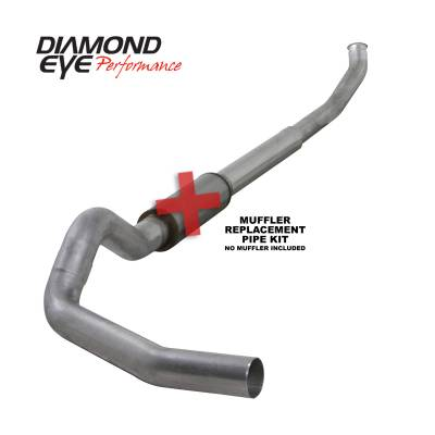 Diamond Eye Performance - Diamond Eye Performance 2003-2004.5 DODGE 5.9L CUMMINS 2500/3500 (ALL CAB AND BED LENGTHS)-5in. ALUMINIZ K5222A-RP