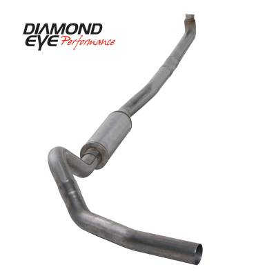 Exhaust Systems / Manifolds - Turbo Back Duals - Diamond Eye Performance - Diamond Eye Performance 2001-2007.5 CHEVY/GMC 6.6L DURAMAX 2500/3500 (ALL CAB AND BED LENGTHS)-4in. 409 K4114S