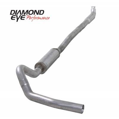 Exhaust Systems / Manifolds - Turbo Back Duals - Diamond Eye Performance - Diamond Eye Performance 2001-2007.5 CHEVY/GMC 6.6L DURAMAX 2500/3500 (ALL CAB AND BED LENGTHS)-4in. ALUM K4113A
