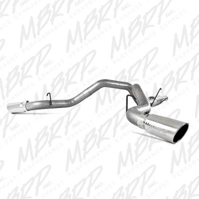 "MBRP Exhaust - MBRP Exhaust 4"" Cat Back, Cool Duals (4WD only), AL S6110AL"
