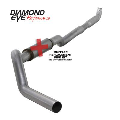 Exhaust Systems / Manifolds - Turbo Back Duals - Diamond Eye Performance - Diamond Eye Performance 2001-2007.5 CHEVY/GMC 6.6L DURAMAX 2500/3500 (ALL CAB AND BED LENGHTS) 5in. ALUM K5117A-RP