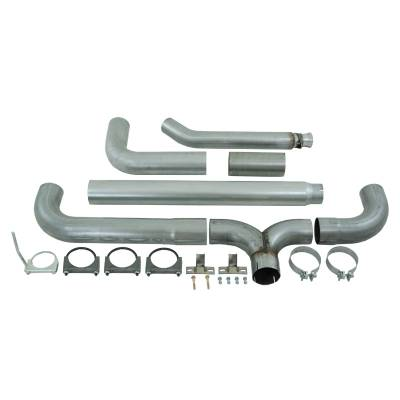 "Exhaust Systems / Manifolds - Turbo Back Single - MBRP Exhaust - MBRP Exhaust 5"" Turbo Back, Dual SMOKERS, AL S8116AL"