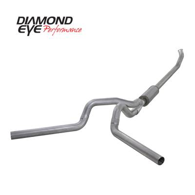 Diamond Eye Performance - Diamond Eye Performance 2003-2004.5 DODGE 5.9L CUMMINS 2500/3500 (ALL CAB AND BED LENGTHS)-4in. ALUMINIZ K4220A