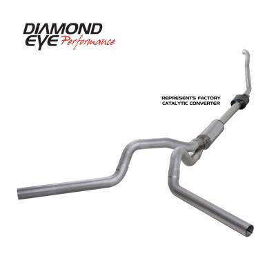 Diamond Eye Performance - Diamond Eye Performance 1994-1997.5 FORD 7.3L POWERSTROKE F250/F350 (ALL CAB AND BED LENGTHS) 4in. ALUMI K4308A